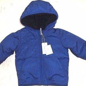 Baby Boy Gap Reversible Cozy Windbreaker Jacket